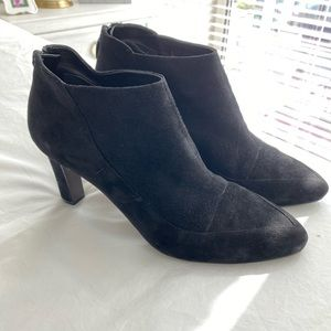 Cole Haan Black Suede Booties